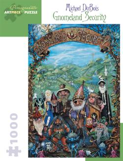 Gnomeland Security Landscape Jigsaw Puzzle