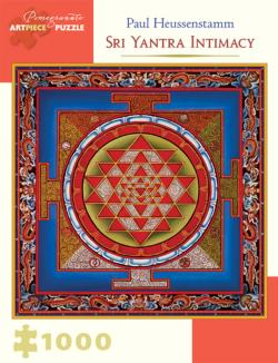 Sri Yantra Intimacy Illustration Jigsaw Puzzle