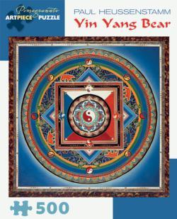 Yin Yang Bear Mandala