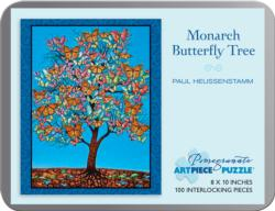 Monarch Butterfly Tree (Mini) Butterflies and Insects Jigsaw Puzzle