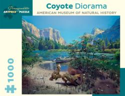 Coyote Diorama Nature Jigsaw Puzzle