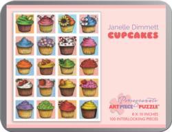 Cupcakes Pattern / Assortment Jigsaw Puzzle