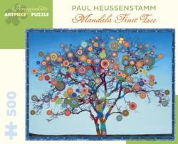 Mandala Fruit Tree Mandala Jigsaw Puzzle