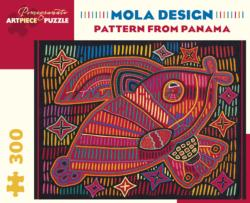 Pattern From Panama Cultural Art Jigsaw Puzzle