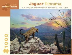 Jaguar Diorama Nature Jigsaw Puzzle