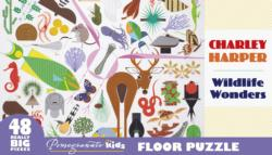 Wildlife Wonders Animals Floor Puzzle