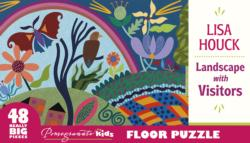 Landscape with Visitors Landscape Floor Puzzle