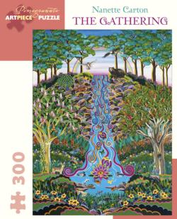 The Gathering Waterfalls Jigsaw Puzzle