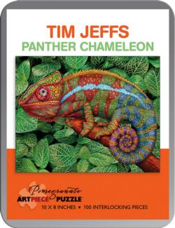 Panther Chameleon Reptiles and Amphibians Tin Packaging