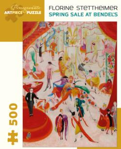Spring Sale at Bendel's Shopping Jigsaw Puzzle
