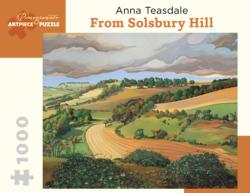 From Solsbury Hill Countryside Jigsaw Puzzle