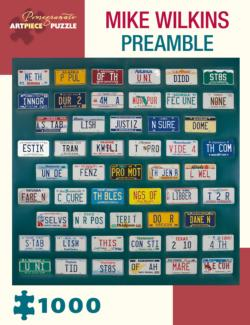 Preamble Pattern / Assortment Jigsaw Puzzle