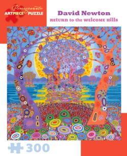 The Welcome Hills Graphics / Illustration Jigsaw Puzzle