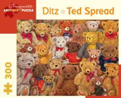 Ted Spread Bears Jigsaw Puzzle