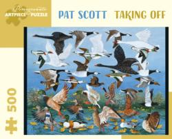 Taking Off Birds Jigsaw Puzzle