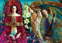 Annunciation Angels Jigsaw Puzzle