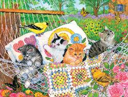 Swingin' into Summer Summer Jigsaw Puzzle