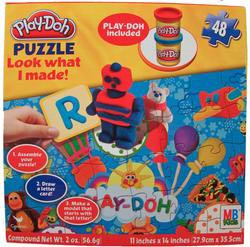 Play-Doh Look What I Made Puzzle - Scratch and Dent Educational Children's Puzzles