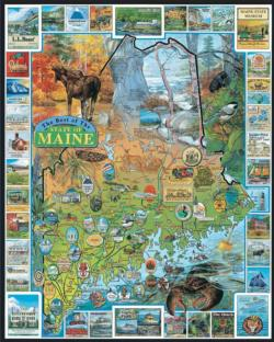 Best of Maine United States Jigsaw Puzzle