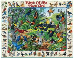 Birds of the Back Yard Collage Jigsaw Puzzle