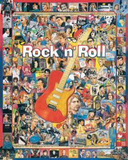 Rock 'n' Roll Nostalgic / Retro Impossible Puzzle