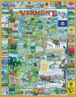 New Vermont United States Jigsaw Puzzle
