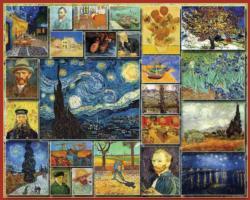 Great Painters - Vincent Van Gogh Impressionism Jigsaw Puzzle