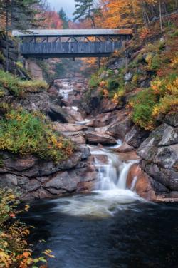 Covered Bridge Bridges Large Piece