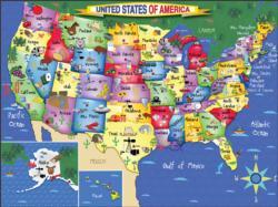 United States of America United States Large Piece