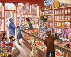 Old Candy Store Sweets Jigsaw Puzzle