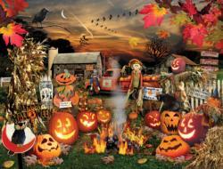Jack O Lanterns Halloween Jigsaw Puzzle