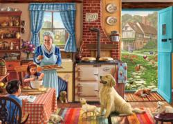 Home Sweet Home Domestic Scene Large Piece