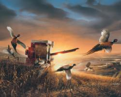 Evening Surprise (Terry Redlin Collection) Sunrise / Sunset Jigsaw Puzzle