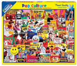 Pop Culture Americana & Folk Art Jigsaw Puzzle