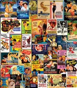Movie Classics Nostalgic / Retro Large Piece