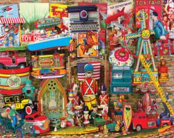 Antique Toys Nostalgic / Retro Jigsaw Puzzle