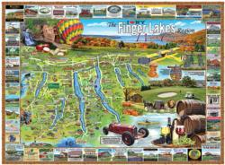 Finger Lakes, NY Maps
