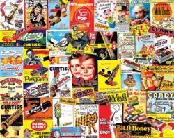 Old Time Candy Sweets Jigsaw Puzzle