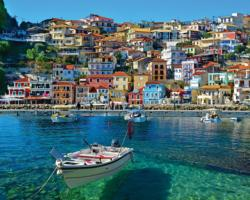Parga Greece Seascape / Coastal Living Jigsaw Puzzle