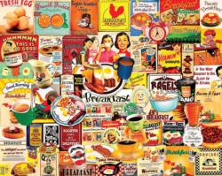 Breakfast Collage Jigsaw Puzzle
