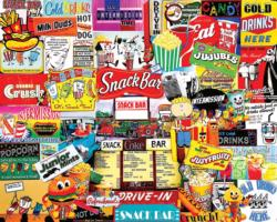 Snack Bar Sweets Jigsaw Puzzle