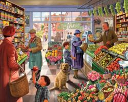 Market Day General Store Jigsaw Puzzle