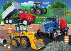 Trucks & Tractors Vehicles Jigsaw Puzzle