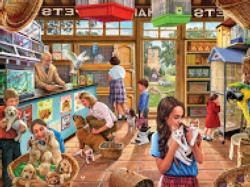 Pet Shop Nostalgic / Retro Jigsaw Puzzle