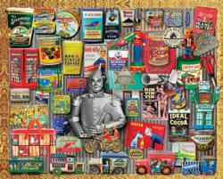 Tin Treasures Collage Jigsaw Puzzle