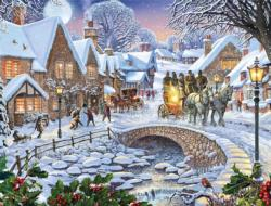 Winter Village Snow