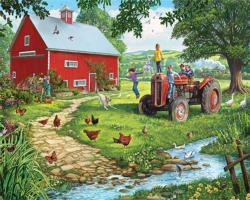 The Old Tractor Chickens & Roosters