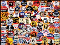 Campaign Buttons Collage