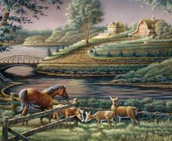 Natural Curiosity (Terry Redlin Collection) Horses