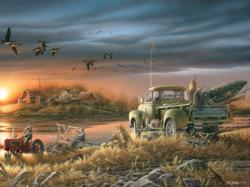 Patiently Waiting (Terry Redlin Collection) Countryside Jigsaw Puzzle